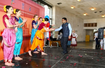 The Consulate General of India in Vladivostok organized a cultural event - India and Russia: let s Celebrate Spring Together