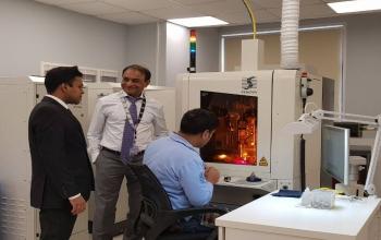 Consul General visited the new KGK diamond factory in Vladivostok