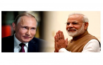 Telephone conversation between Prime Minister of India Mr. Narendra Modi and H.E. Mr. Vladimir Putin, President of the Russian Federation