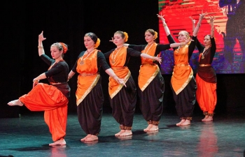 Consulate General of India in Vladivostok organized the Festival of Indian culture at Primorye Regional Colledge of Arts at the City of Ussuriysk after a gap of 3 years.