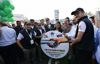 India-Russia Friendship Motor rally 2018 is being conducted to strengthen the existing friendship between the two countries.