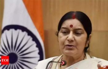 External Affairs Minister Madam Sushma Swaraj on the eve of Passport Seva Divas on 26-27 June 2018.