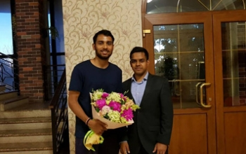 Congratulations to Sourabh Verma of  India for winning RussianOpen after beating Koki Watanabe of Japan in the title clash of Men's Singles in Vladivostok, Russia
