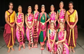 Festival of India 2018-19 – Bharatnatyam Performance in Kaluga on 07 September