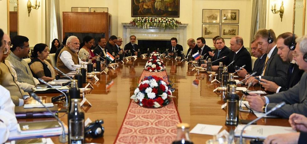 President Putin visits India