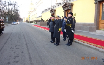 Visit of the Chief of Naval Staff