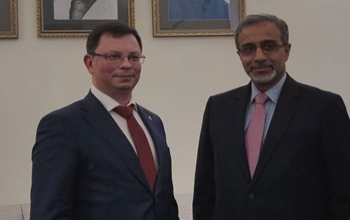 Ambassador met the Rector of Far Eastern Federal University, Mr. Nikita Anisimov along with Vice Rector Ms. Victoria Panova, to discuss cooperation between FEFU and Indian Universities and Institutes.