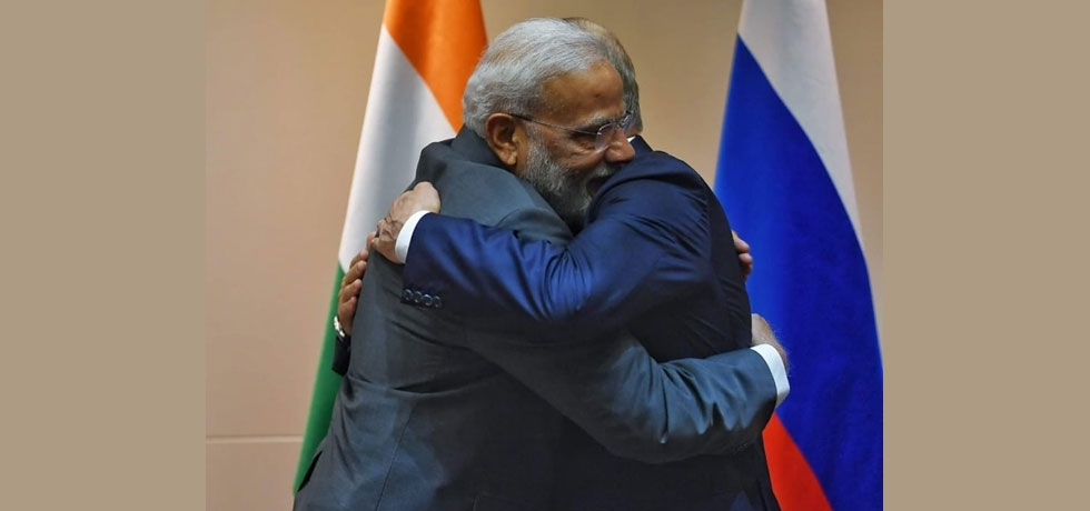 Meeting with President Putin was great. We had extensive discussions on ways to further strengthen the strategic relations between India and Russia.
