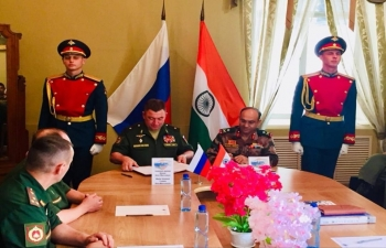 The first conference on planning the Indo-Russian military exercises INDRA-2019