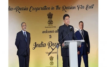Commerce and Industry Minister leads a high-power delegation to Vladivostok