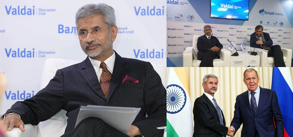 EAM Dr S Jaishankar spoke at Valdai Club today on the topic