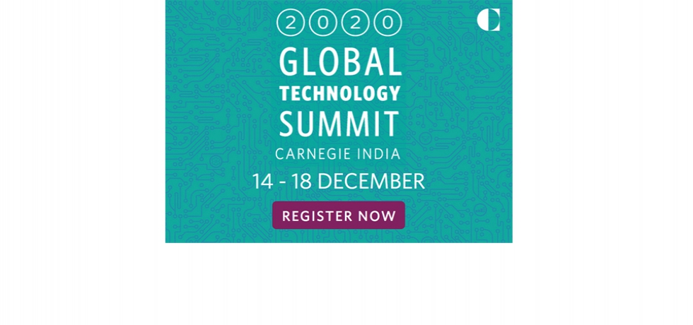 2020 Global Technology Summit December 14, 2020 — December 18, 2020
