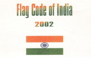 Flag Code of India (Hindi)