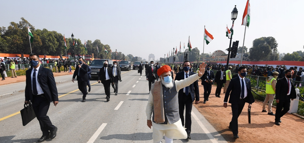 PM greets nation on Republic Day, January 26, 2021.