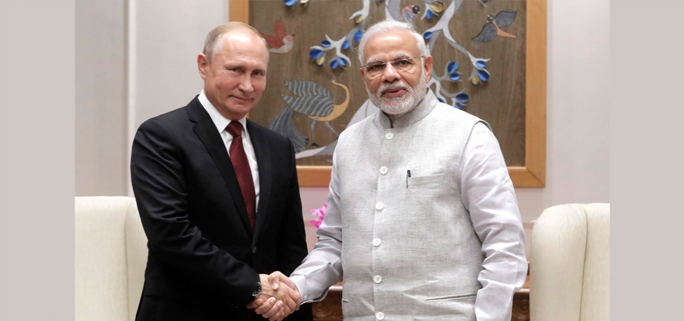 Telephone Conversation between Prime Minister Shri Narendra Modi and President of the Russian Federation H.E. Vladimir Putin, April 28, 2021